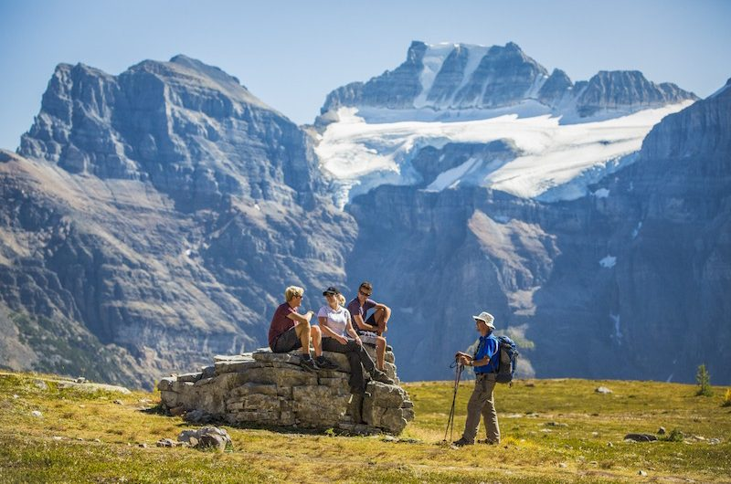 Small guided hikes Banff and Lake Louise
