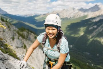 Via Ferrata Ridgewalker Route at Banff Mt Norquay