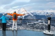 Winter Banff Gondola