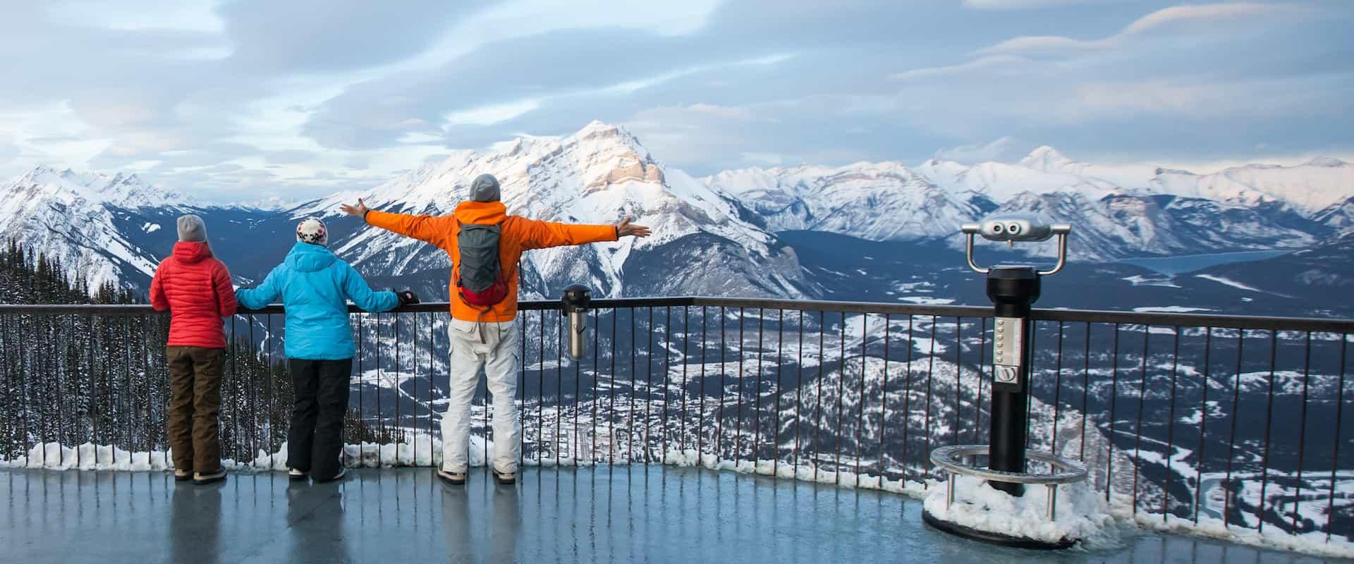 Icewalk + Banff Gondola