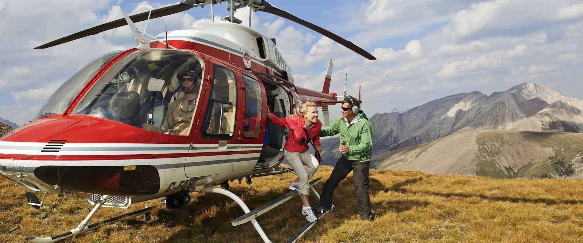Banff Alpine Heli & Hike
