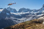 Helicopter Tour near Banff, Canadian Rockies