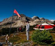 Alpine Helicopters Helicopter Tour Alpine Heli Hike near Banff, Canadian Rockies