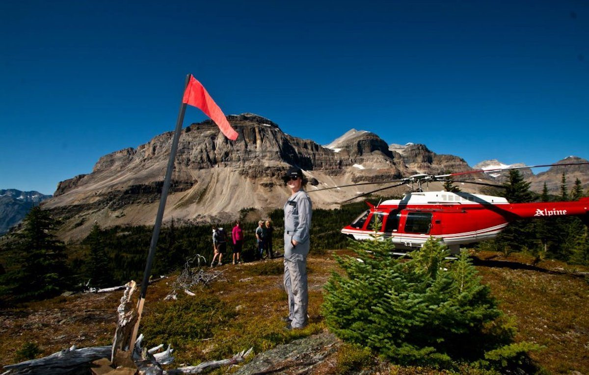 Helicopter Ride Amp Hike  Discover Banff Tours