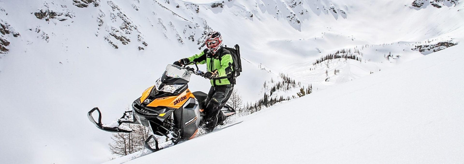 Paradise Basin Snowmobiling