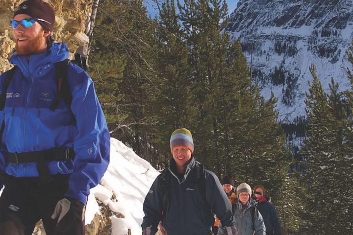 Banff Snowshoe