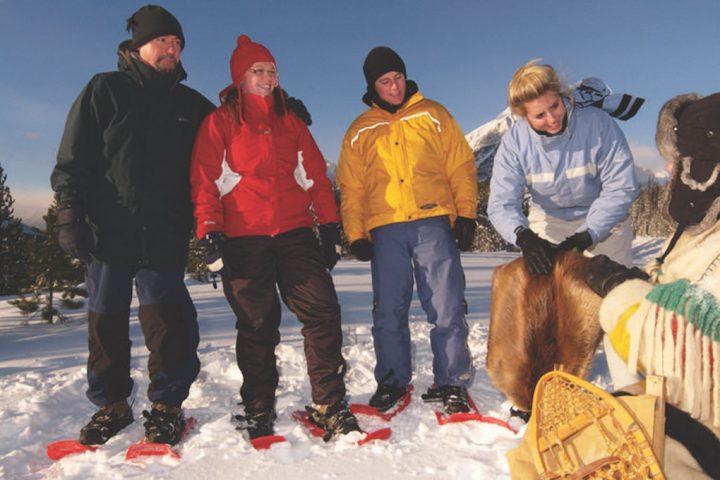 Banff Snowshoeing Tour