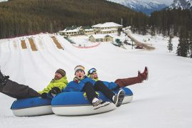 Banff Tubing at Mt Norquay