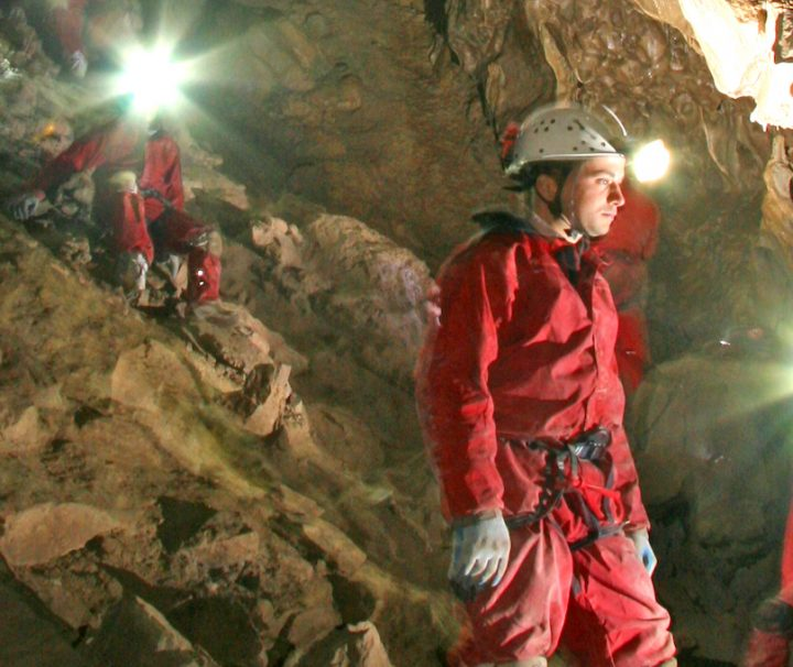 Canmore Caving