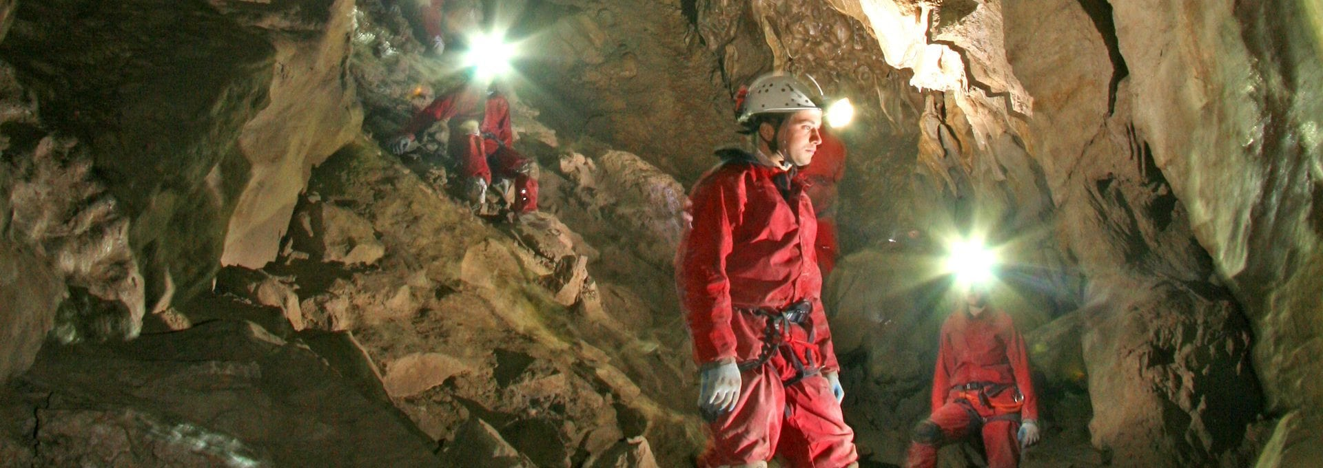 Canmore Caves Adventure Tour