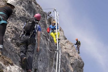 Climb Mount Norquay on the Skyline Via Ferrata Route in Banff in the Canadian Rockies