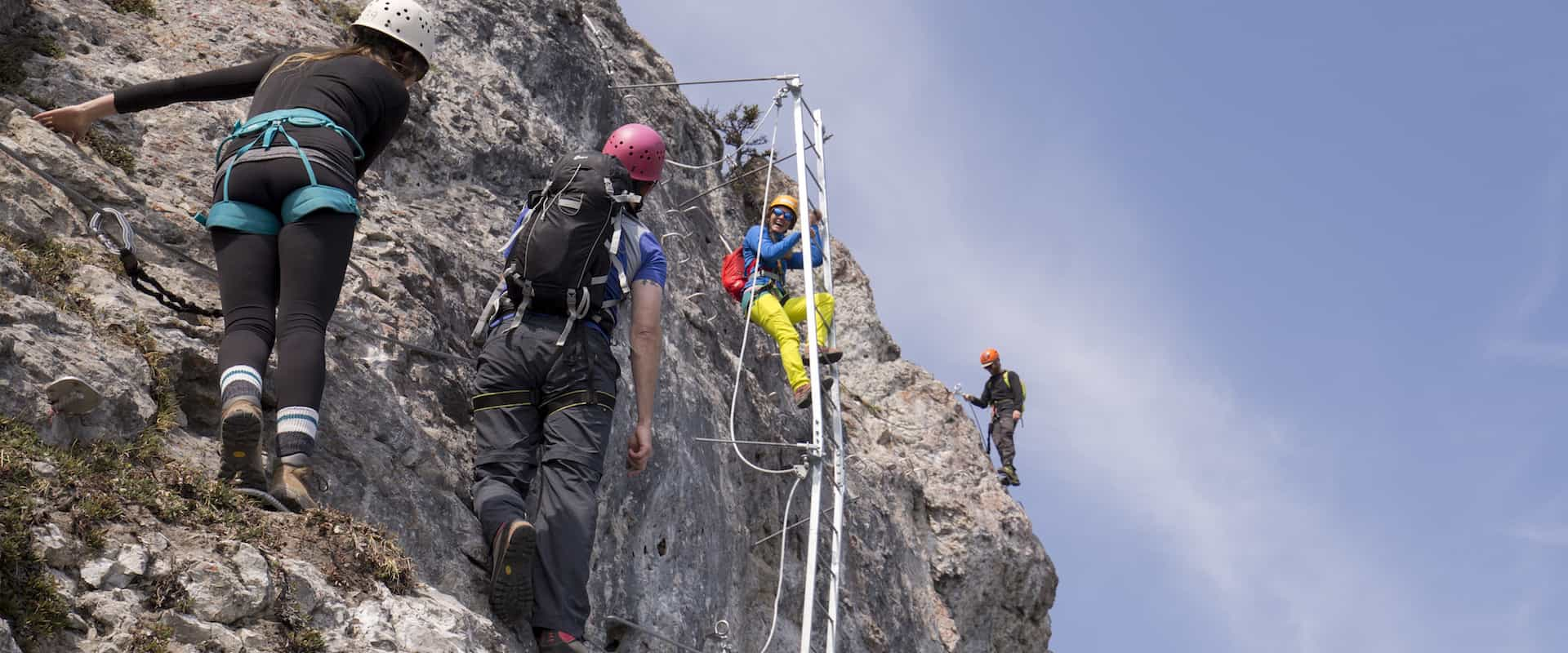 Via Ferrata Skyline – 5 Hours