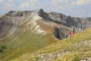 Guided Alpine Heli Hike at Mount Charles Stewart