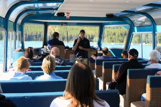 Jasper Boat Cruise