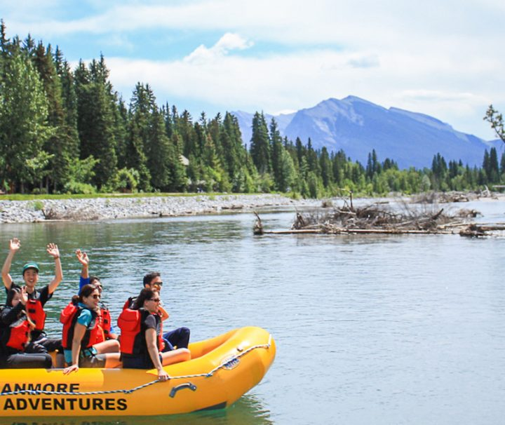 Canmore River Float Adventure