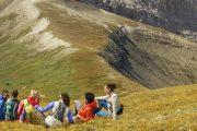 Take a guided alpine heli hike