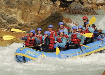 Whitewater Rafting Kicking Horse River