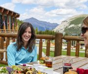Lunch at Sunshine Meadows
