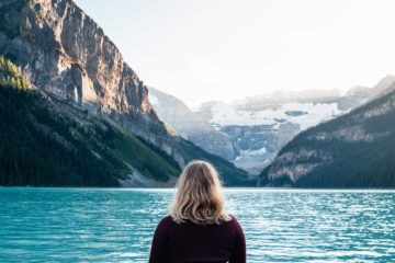 Take in the evening beauty of Lake Louise on the Deluxe Lake Louise and Moraine Lake Tour