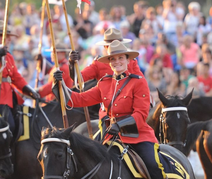 RCMP Musical Ride, Banff National Park 2017