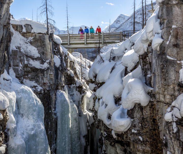 Snowshoeing Banff