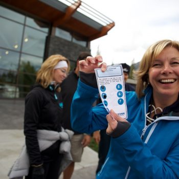 Teambuilding with Discover Banff Tours