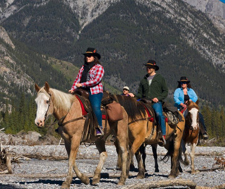 Backcountry Sundance Overnight Horseback Ride in Banff, Canadian Rockies with Discover Banff Tours