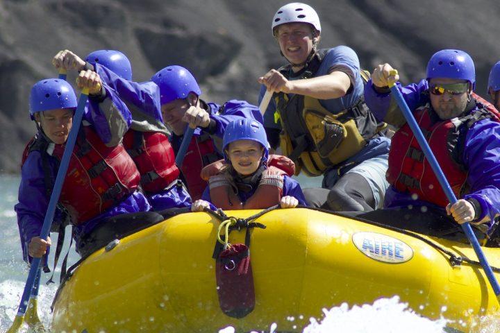 Chinook Rafting Kananaskis River Whitewater Rafting