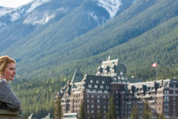 Sightseeing Surprise Corner Fairmont Banff Springs Hotel