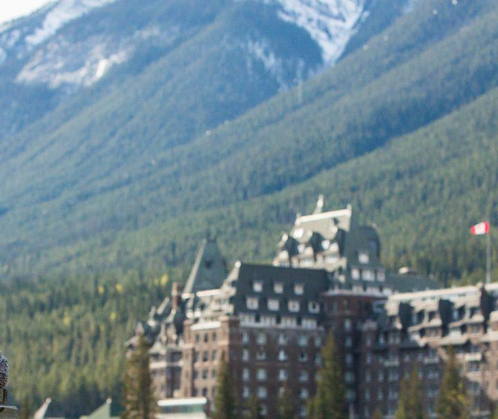 Sightseeing Surprise Corner Fairmont Banff Springs Hotel