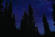 Starry Night Sky by Campfire at Sundance Lodge