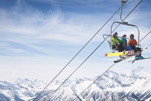 Chairlift at Panorama Mountain Village, British Columbia