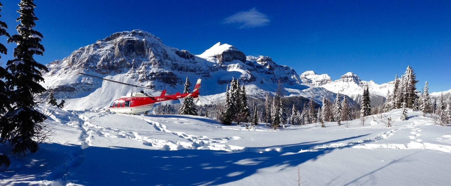 Private Banff Heli Sightseeing