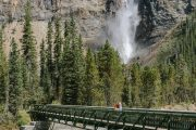 See Takakkaw Falls on the Mountain Lakes and Waterfalls Tour in the Canadian Rockies