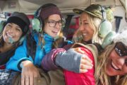 Take a private Banff helicopter sightseeing flight with your friends to Marvel Pass