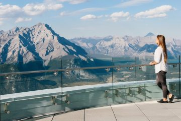 Banff Gondola View in the Summer