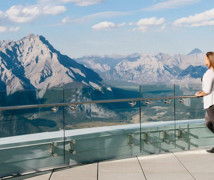 Banff Gondola View in the Summer