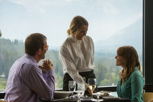 Dining at Three Ravens Restaurants in Banff National Park