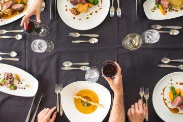 Dining in Banff