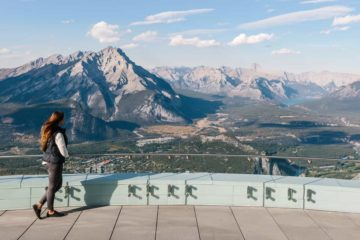 Summer views from the Banff Gondola
