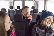 Enjoy our comfortable sightseeing vehicles and buses with Discover Banff Tours in the Canadian Rockies