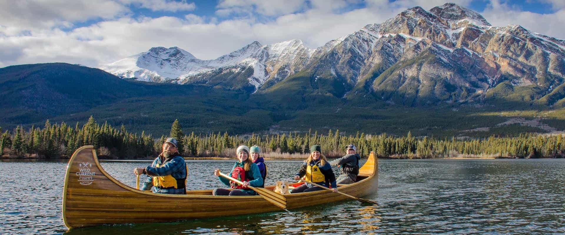 Pyramid Lake Canoe Tour