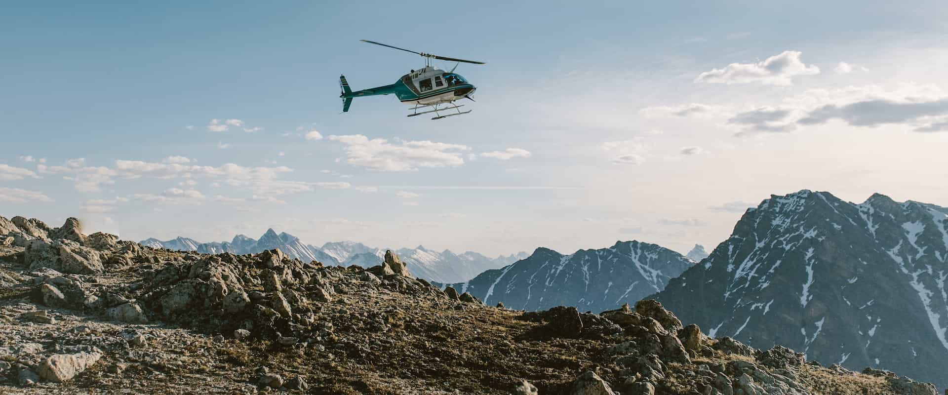 Rockies Heli Sightseeing Tours at the Icefields