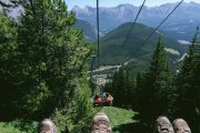 The Banff Sightseeing Chairlift at Banff Mount Norquay is perfect for sightseeing photos