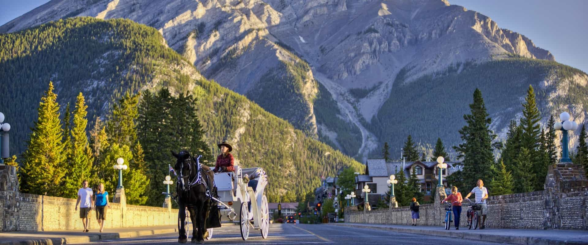 Carriage Ride on Banff Ave