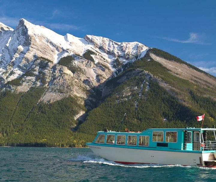 Cruise Lake Minnewanka on the Banff Lake Cruise