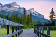 See Canmore at sunset on a ghost walking tour