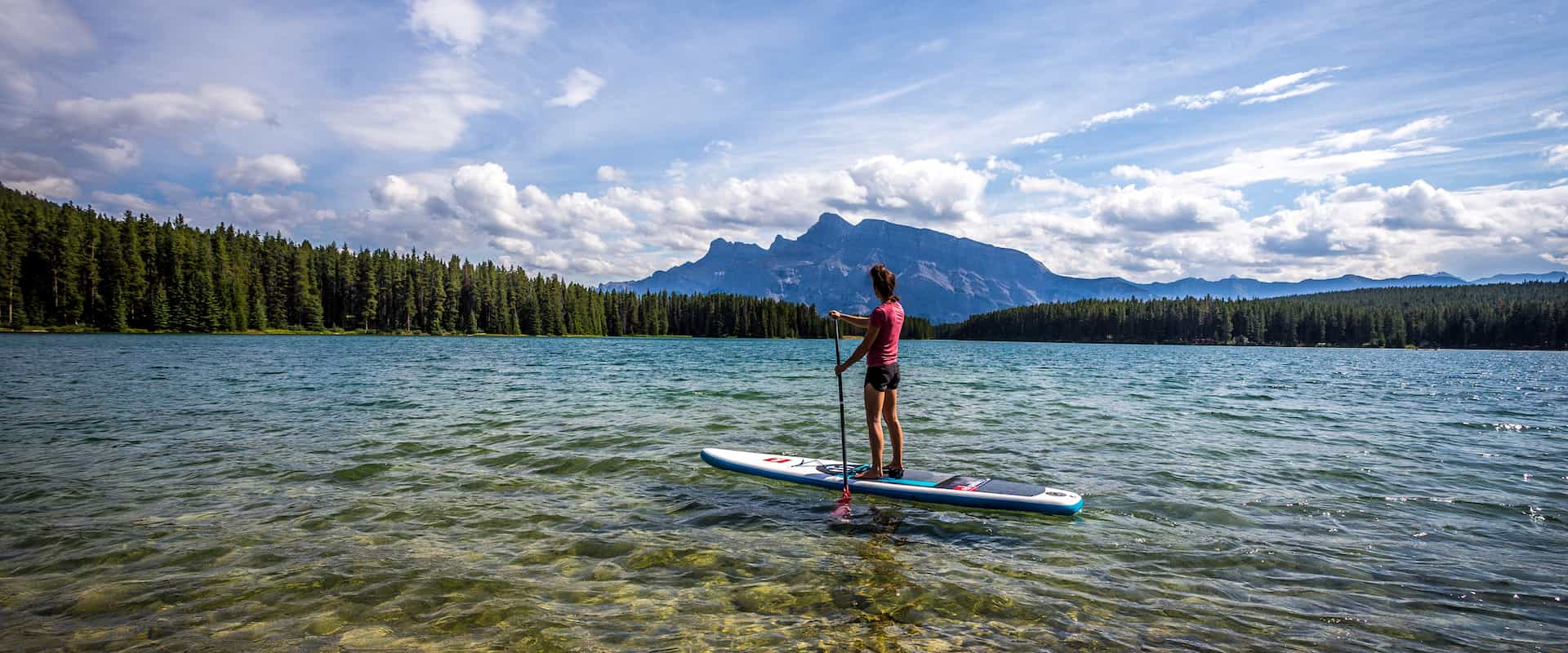 SUP is the perfect way to explore Banff