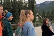 Take an evening ghost tour of Banff with an interpretive guide