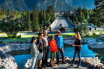 Take a walking tour in Banff with a friendly guide